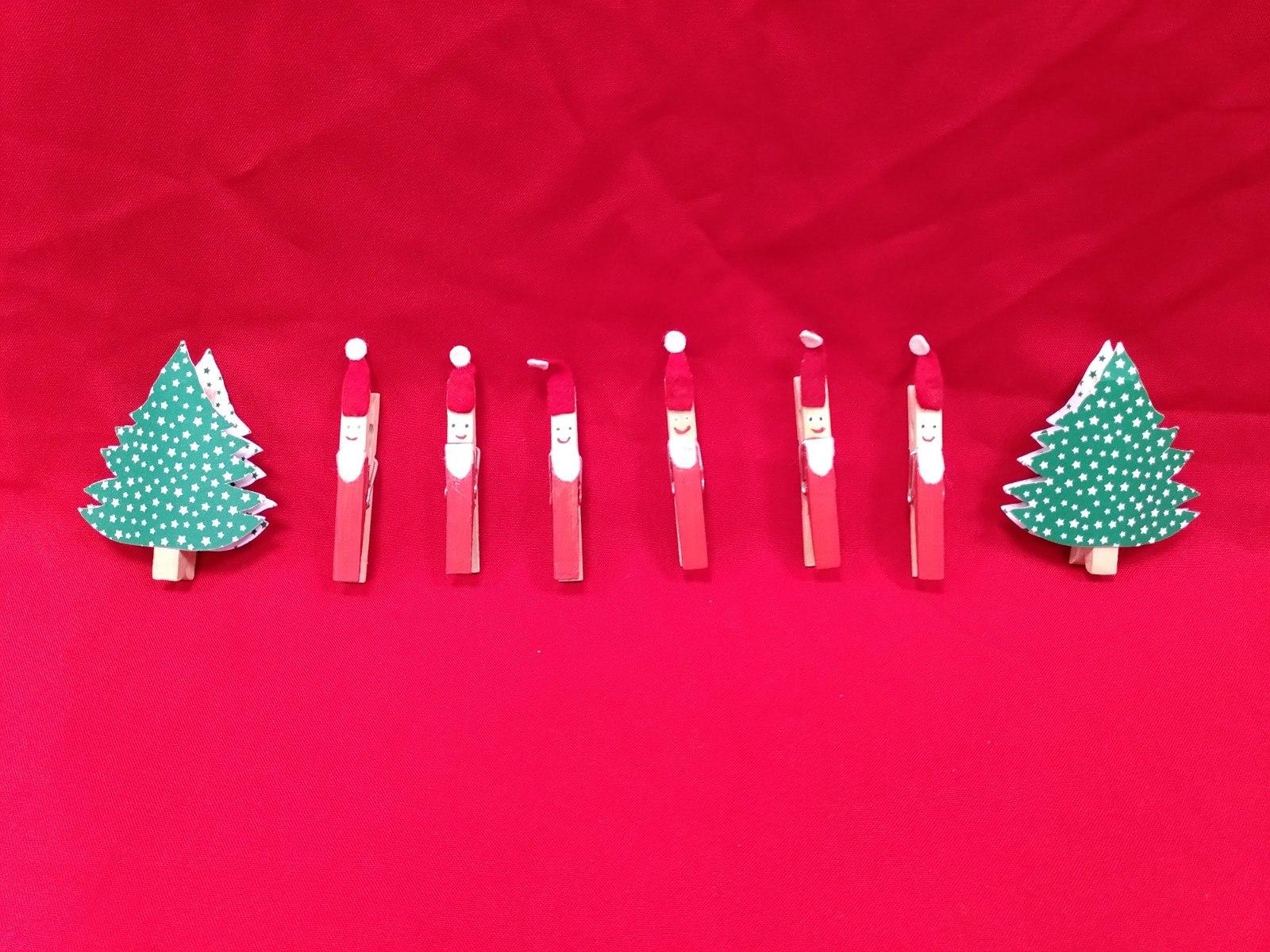 Weihnachtsklammern (1 €),